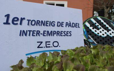 Éxito en el 1er torneo de Pádel ZEO Inter-empresas