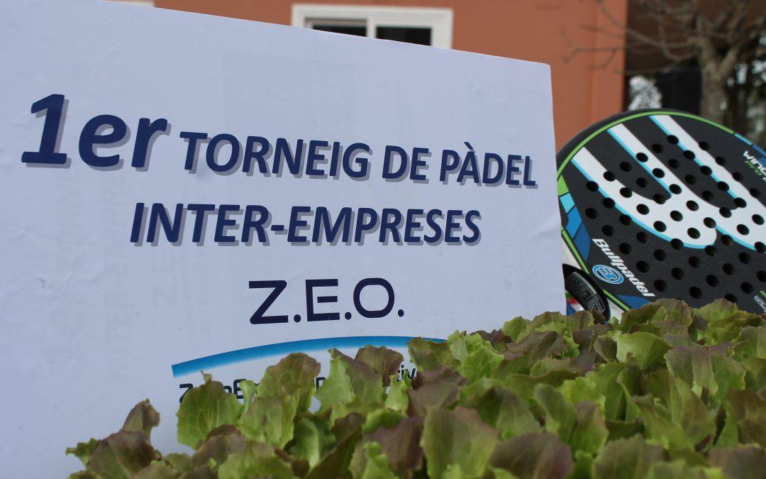 Èxit en el 1er torneig de Pàdel ZEO inter-empreses