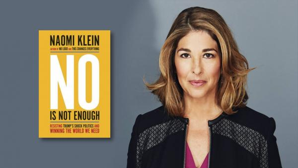 La periodista Naomi Klein i el seu nou llibre «Dir NO no és suficient»