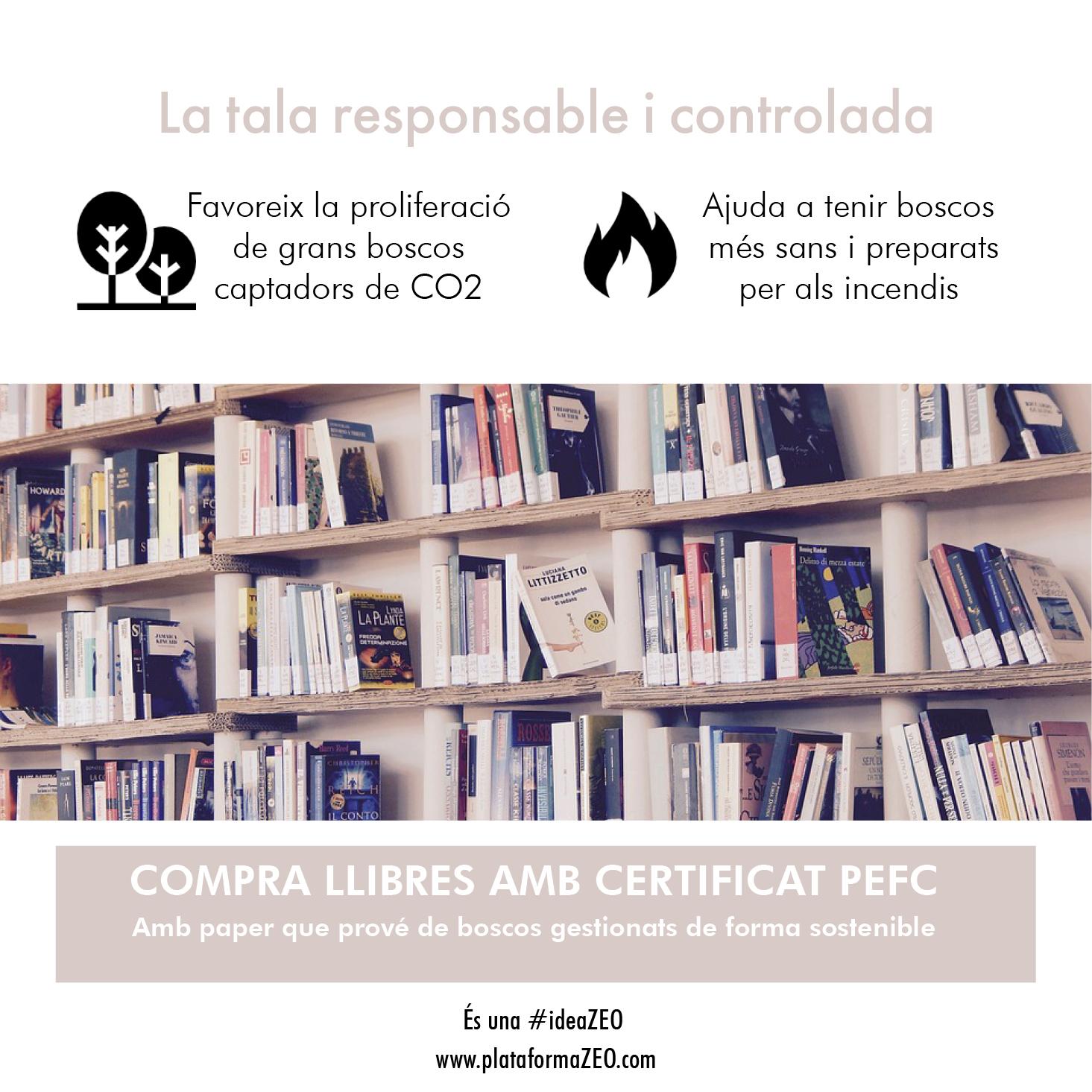 Llibres certificat PEFC