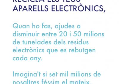 Recicla els teus aparells electrónics