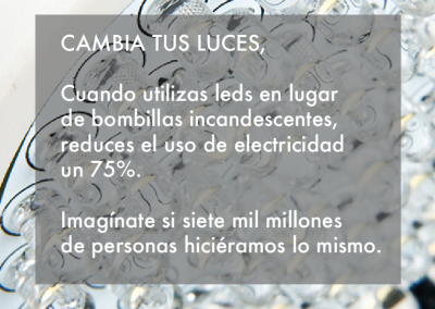 Cambia tus luces