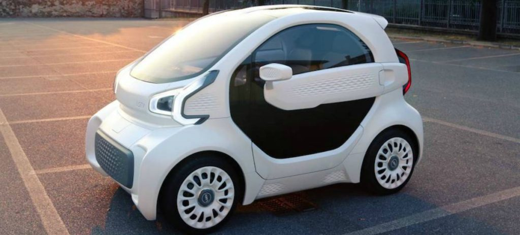 La tecnologia 3D arriba als cotxes elèctrics