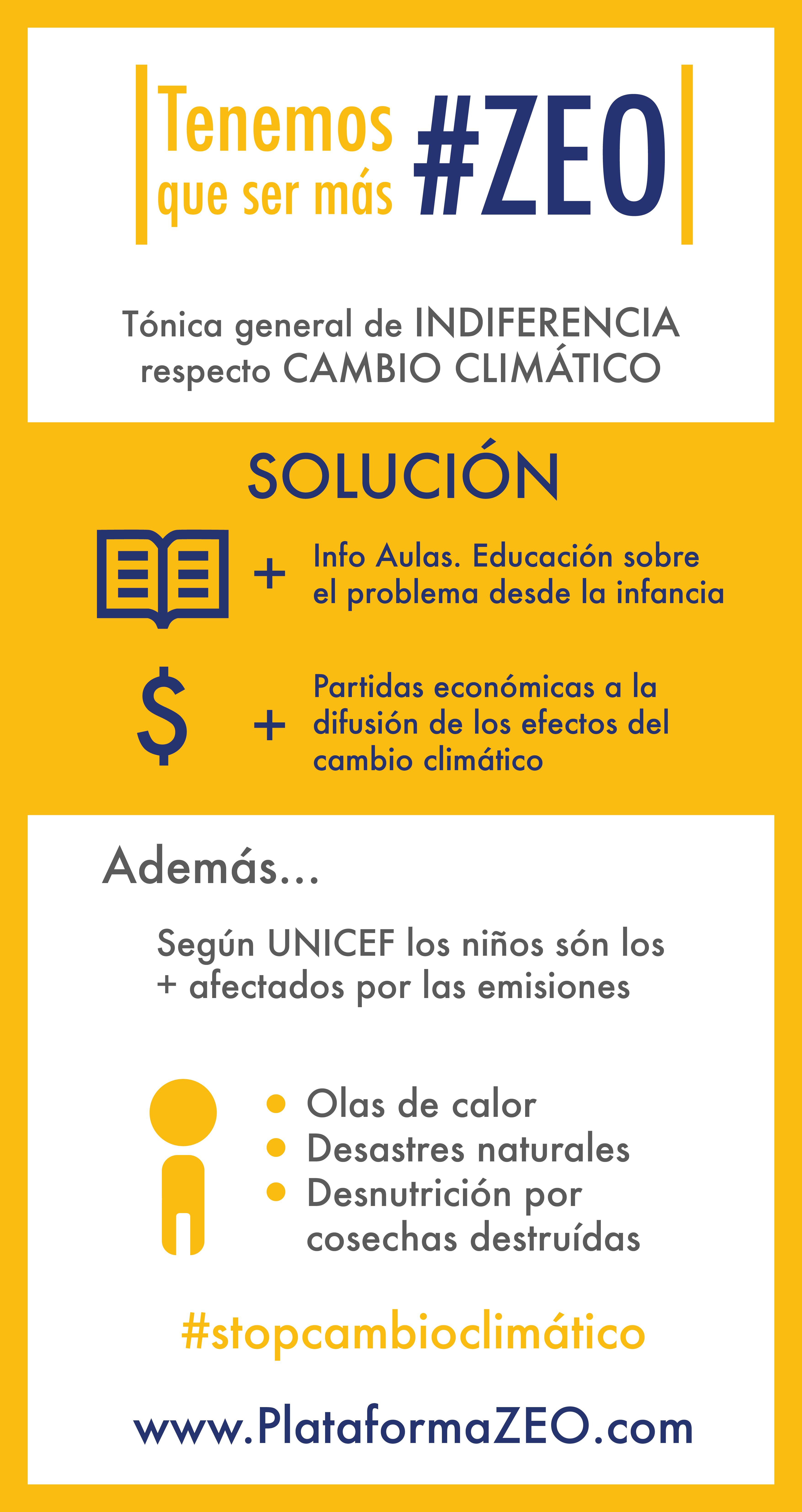 És necessària més informació del canvi climàtic a les aules