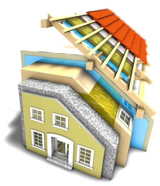 L'aïllament tèrmic és una forma d'afavorir el baix consum de les vivendes