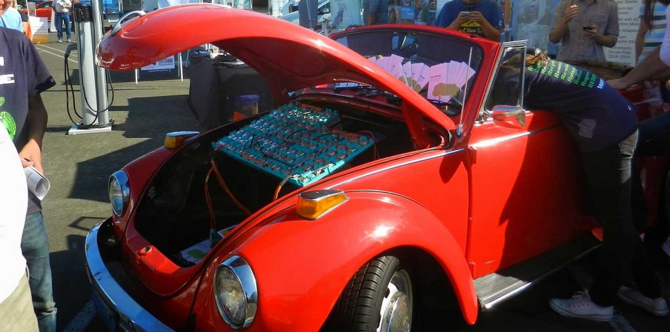 Coche combustión convertido en coche eléctrico
