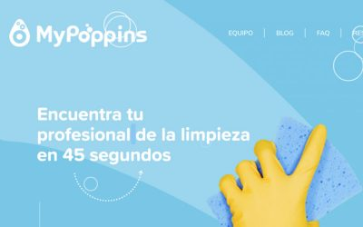 My Poppins, primer marketplace con opción de limpieza eco-friendly