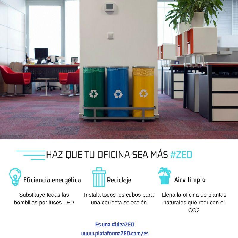 Haz que tu oficina sea más ecológica