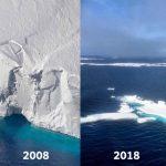 El 10 years challenge del cambio climático se hace viral