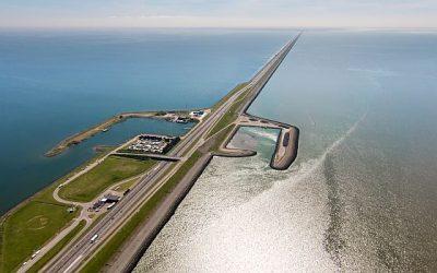 Holanda convertirà el seu dic Afsluitdijk en un generador d'energies renovables