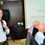 El fundador de Plataforma ZEO, Josep Maria Riba, dóna una conferència pel Rotary Club