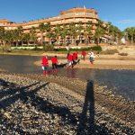 120 directius sènior de Coca-Cola European Partners, reunits a Sitges, realitzen una jornada ambiental durant la seva reunió anual