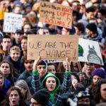 Llega a Barcelona la primera manifestación de Juventud por el Clima
