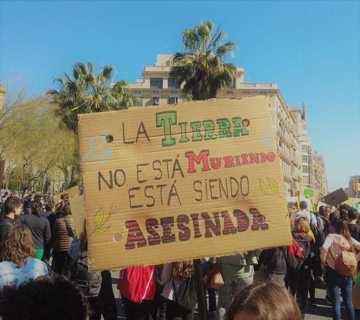 FOTOREPORTATGE: Les millors pancartes i frases del 15M Climàtic