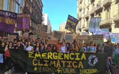 La 2a Vaga Global de Joves pel Clima exigirà la declaració d'Emergència Climàtica Mundial