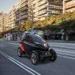 El micro-cotxe ZEO que serà el futur de la mobilitat interurbana