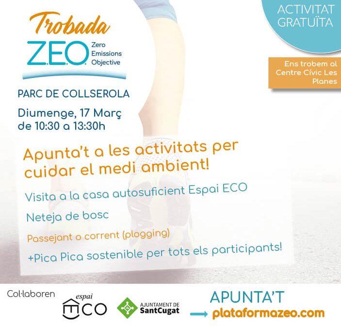 PlataformaZEO organitza la primera TrobadaZEO al Parc de Collserola