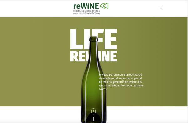 Rewine, un proyecto de economía circular que podría evitar 73.500 toneladas de CO2 a la atmosfera