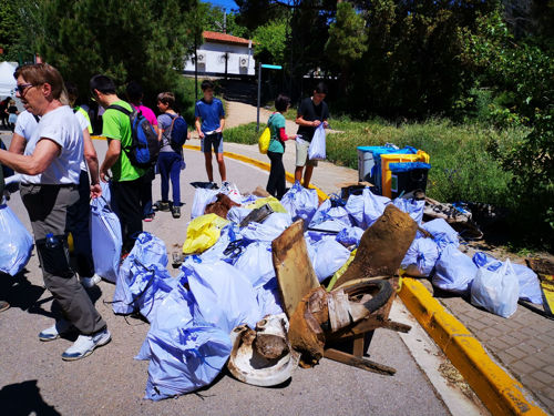 270 kilos de basura recogidos TrobadaZEO