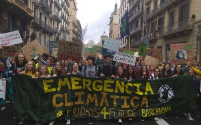 FOTOS: 2ª Huelga Internacional de Fridays For Future en Barcelona
