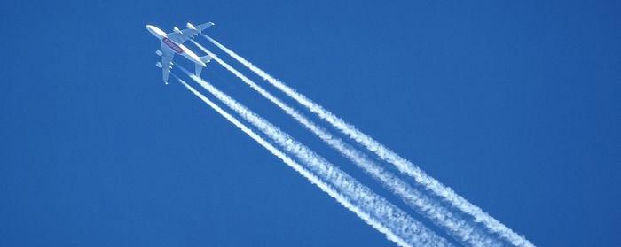 Aviones y cambio climático
