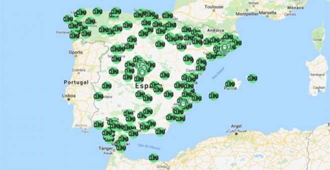 On són les principals manifestacions de la Vaga pel clima a Espanya?