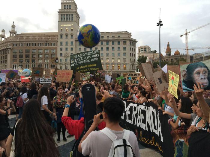 FOTOS: 6 milions de persones participen en la Vaga Global pel Clima