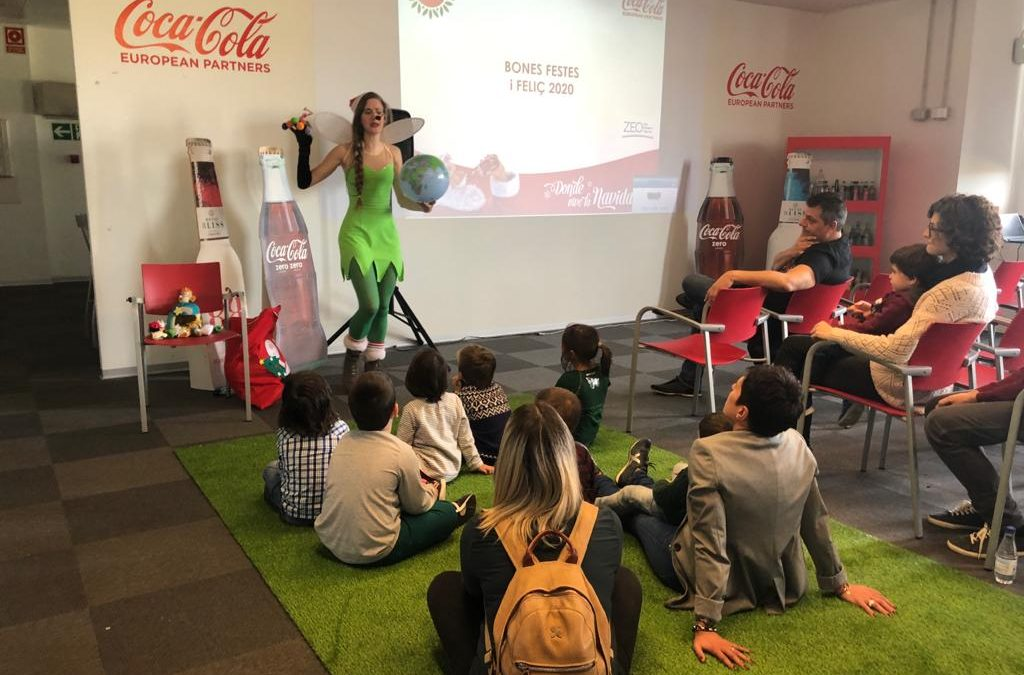 Coca Cola European Partners organiza unos Talleres ZEO para las familias de los trabajadores