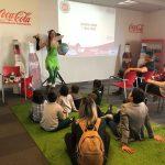 Coca-Cola European Partners organitza uns tallers ZEO per a les famílies dels treballadors
