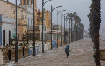 ¿La borrasca Gloria ha sido provocada por el cambio climático?