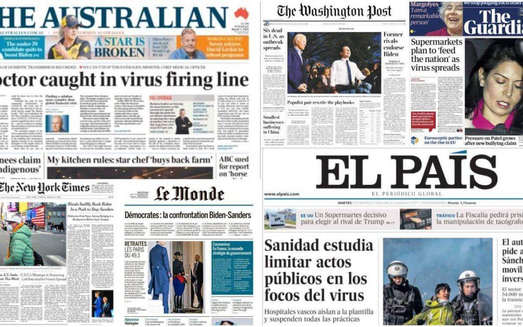 """OPINIÓ: Per què la crisi climàtica no genera tanta """"moguda"""" com la del coronavirus?"""