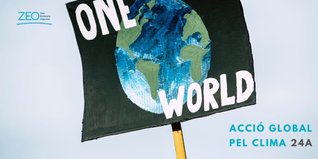 PlataformaZEO se suma a la iniciativa Acció Global pel clima 24 A