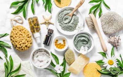 La cosmética natural ayuda a reducir nuestra huella de carbono