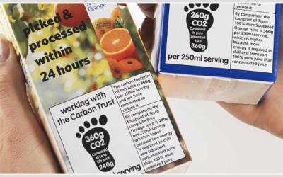 Etiquetes de petjada de carboni que existeixen a l'actualitat
