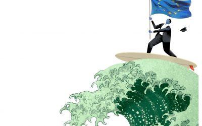 """La consciència climàtica s'estén a la política europea com una """"marea verda"""""""