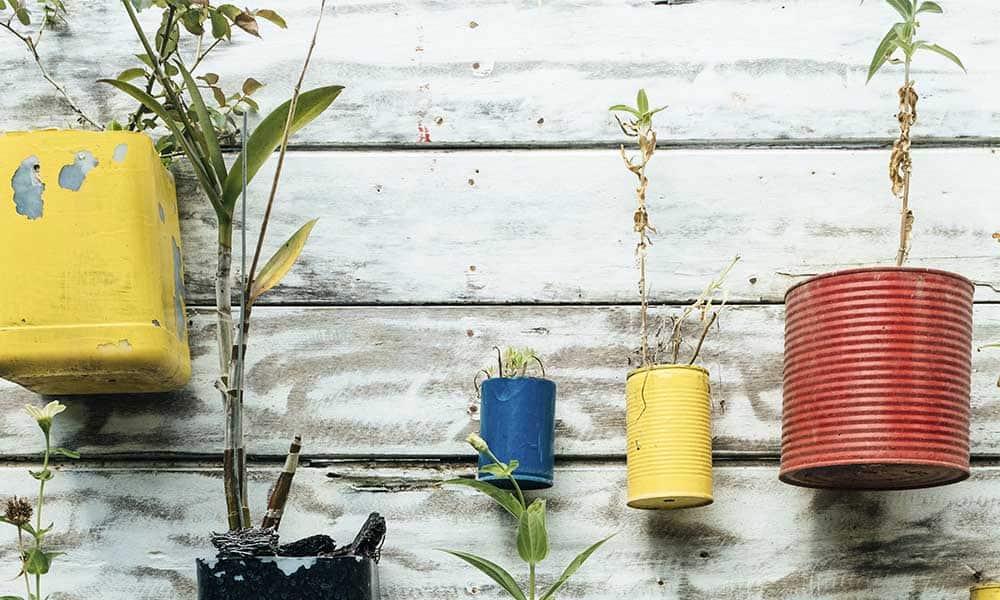 La reutilización también ayuda a combatir el cambio climático