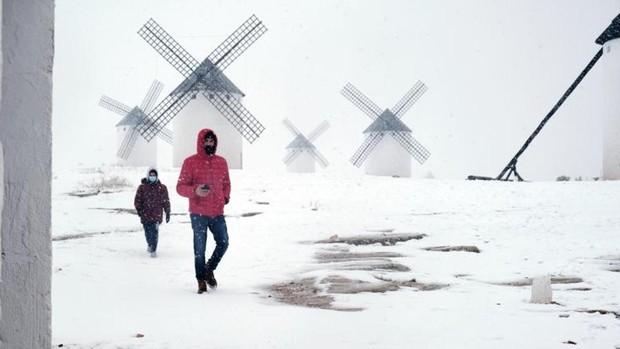 """La gran confusión de los negacionistas: """"La borrasca Filomena es la prueba de que no hay cambio climático"""""""
