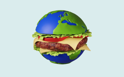 La teva hamburguesa també pot contribuir al canvi climàtic (o frenar-lo)