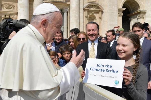 La comunitat catòlica s'implica cada vegada més en la lluita contra el canvi climàtic