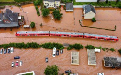 """""""Bernd"""" un fenomen climàtic extrem que ha arrasat el centre d'Europa"""