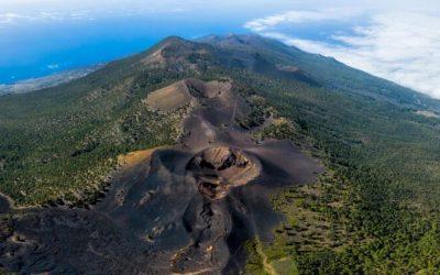 Como está afectando el volcán de La Palma al cambio climático